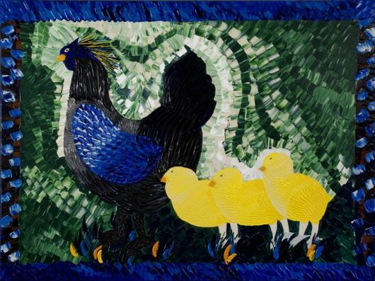 Cobblestone Hen & Chicks